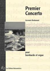 Premier concerto pour bombarde et orgue - Couverture - Format classique