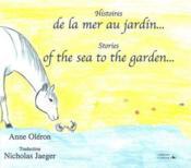 Histoires de la mer au jardin ; stories of the sea to the garden - Couverture - Format classique
