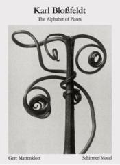 Karl blossfeldt the alphabet of plants (bibliotheque visuelle) - Couverture - Format classique