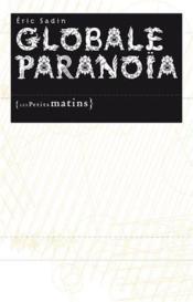 Globale paranoïa - Couverture - Format classique