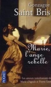 Marie, l'ange rebelle - Couverture - Format classique