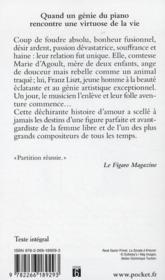 Marie, l'ange rebelle - 4ème de couverture - Format classique