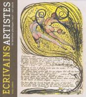 Des écrivains artistes ; la tentation plastique, XVIII - XXI siècle - Couverture - Format classique