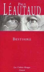 Bestiaire - Intérieur - Format classique
