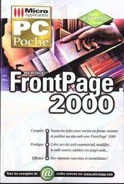 Frontpage 2000. Microsoft - Intérieur - Format classique