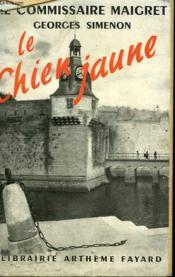 Le Chien Jaune. - Couverture - Format classique