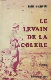 Le Levain De La Colere - Couverture - Format classique