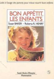 Bon appetit les enfants - Couverture - Format classique