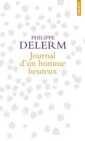 Journal d'un homme heureux - Couverture - Format classique
