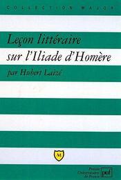 Leçon littéraire sur l'Iliade d'homère - Intérieur - Format classique