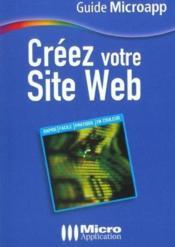 Creez votre site web - Couverture - Format classique