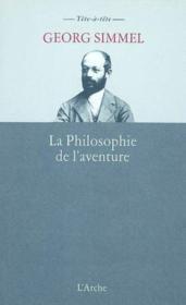 Philosophie de l'aventure (la) - Couverture - Format classique