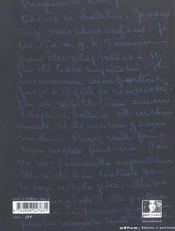 Le monde de George Sand - 4ème de couverture - Format classique