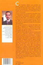 Le blanchiment de l'argent 2eme edition 2003 (2e édition) - 4ème de couverture - Format classique