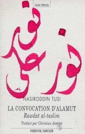 La Convocation D'Alamut - Couverture - Format classique