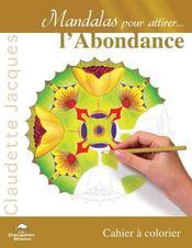 Mandalas pour attirer l'abondance - Intérieur - Format classique