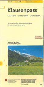 Klausenpass - Couverture - Format classique