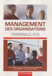 telecharger Management des organisations – terminale STG – manuel de l'eleve livre PDF en ligne gratuit