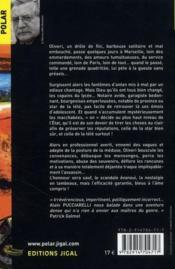 La posture de la méduse - 4ème de couverture - Format classique