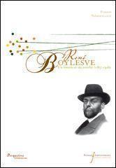 René Boylesve un romancier du sensible 1867-1926 - Couverture - Format classique