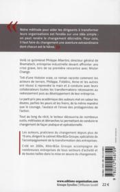 Le livre du changement, ou l'extraordinaire aventure de Philippe, Fré - 4ème de couverture - Format classique