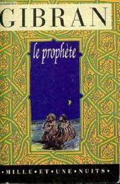 Le prophete - Couverture - Format classique