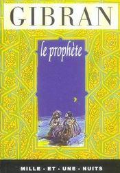 Le prophete - Intérieur - Format classique