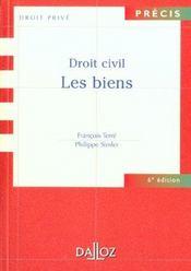 Droit Civil ; Les Biens ; 6e Edition - Intérieur - Format classique