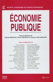 Economie Publique - Intérieur - Format classique