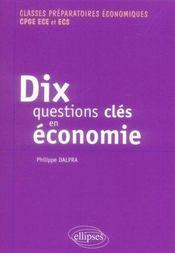 Dix questions clés en économie - Intérieur - Format classique
