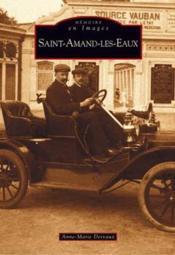 Saint-Amand-les-Eaux - Couverture - Format classique