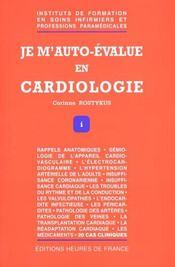 Je M'Auto Evalue En Cardiologie - Intérieur - Format classique