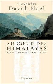 Au Coeur Des Himalayas - Couverture - Format classique