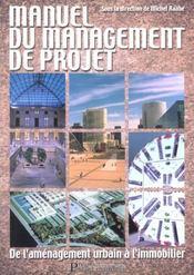 Le Manuel Du Management De Projet De L'Amenagement Urbain Immobilier - Intérieur - Format classique