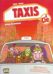 Taxis & Cie T.1 ; Breves De Compteur - Intérieur - Format classique