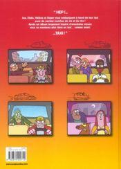 Taxis & Cie T.1 ; Breves De Compteur - 4ème de couverture - Format classique