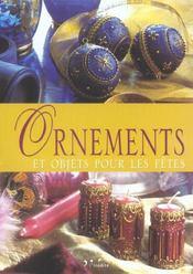 Ornements et objets pour les fêtes - Intérieur - Format classique