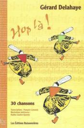 Hop la ! 30 chansons partitions - Couverture - Format classique