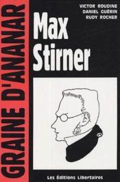Max Stirner - Couverture - Format classique