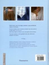 Coton, lin et liberty - 4ème de couverture - Format classique