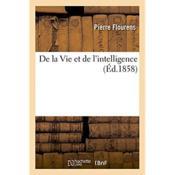 De la vie et de l'intelligence - Couverture - Format classique