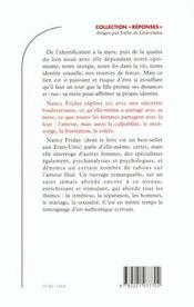 Ma Mere Mon Miroir - 4ème de couverture - Format classique