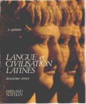 Langue Civilisation Latine 3e - Couverture - Format classique