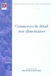 Commerce de detail non alimentaire - Intérieur - Format classique