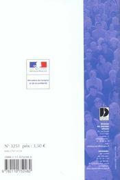Commerce de detail non alimentaire - 4ème de couverture - Format classique
