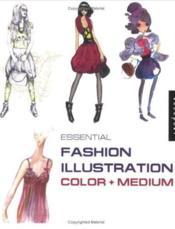 Essential fashion illustration color - Couverture - Format classique
