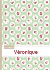 Carnet Veronique Lignes,96p,A5 Rosesteatime - Couverture - Format classique
