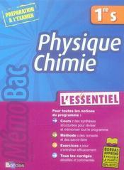 Physique-chimie ; 1ère S - Intérieur - Format classique