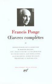 Oeuvres complètes t.2 - Intérieur - Format classique