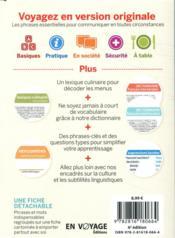 GUIDE DE CONVERSATION ; néerlandais (6e édition) - 4ème de couverture - Format classique